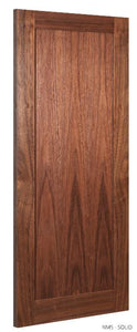 NM5 Solid Walnut Door