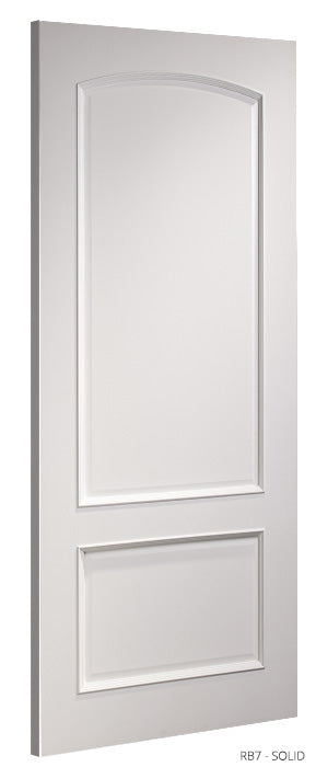 RB7 Solid White Primed Door