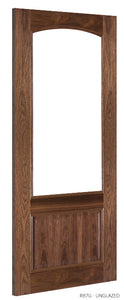 RB7G Unglazed Walnut Door