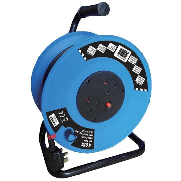 POWER 40M 13A 220V 2.5SQ CABLE REEL