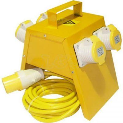 POWER DISTRIBUTION BOX 4 WAY 110V 16A
