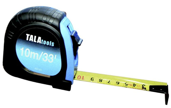 Tala 33 Foot / 10 Metre Measuring Tape - Sheahan's Homevalue Nenagh