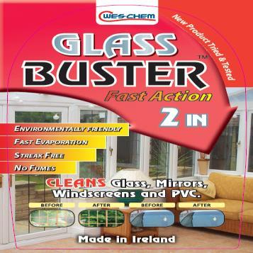 Glass Buster 750 Ml