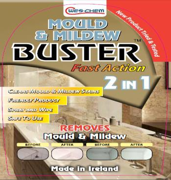 Mould and Mildew Buster 750 Ml