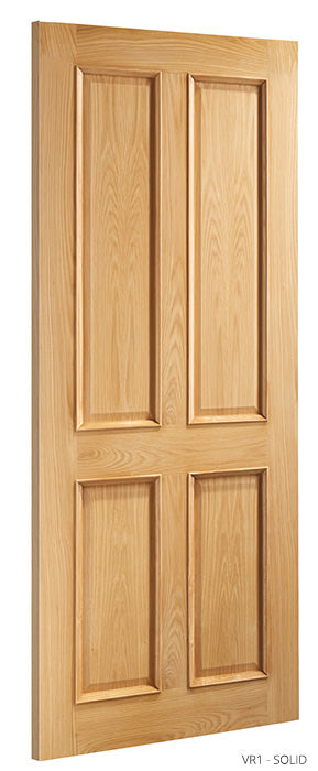 VR1 Solid Oak Door