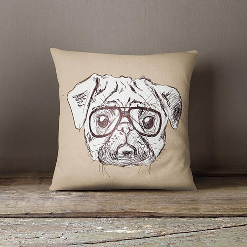 Dog Decorative Pillow Case Kids Room Decor