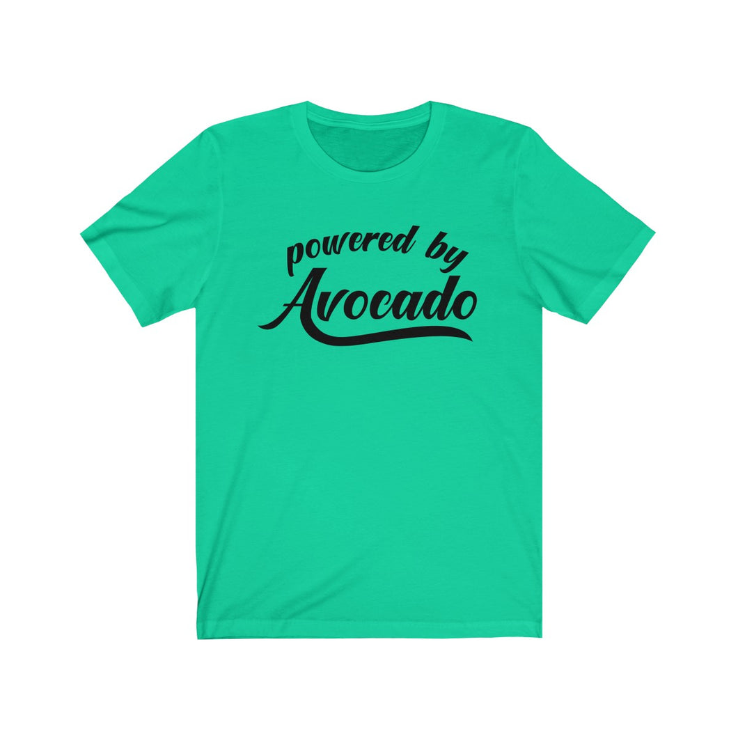Powered By Avocado Unisex Jersey Short Sleeve Tee