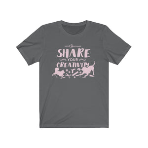 Share Your Creativity Jersey Short Sleeve Tee
