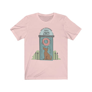 DecoExchange Nola 2019, Crafters Shirt, Wreath Shirt, Jersey Short Sleeve Tee