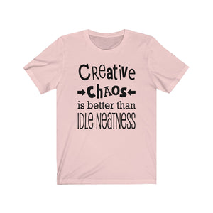 Creative Chaos - Craft Shirt - Unisex Jersey Short Sleeve Tee