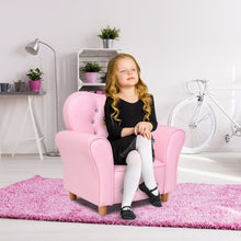 Load image into Gallery viewer, Pink Kids Teen Sofa Armrest Chair Couch