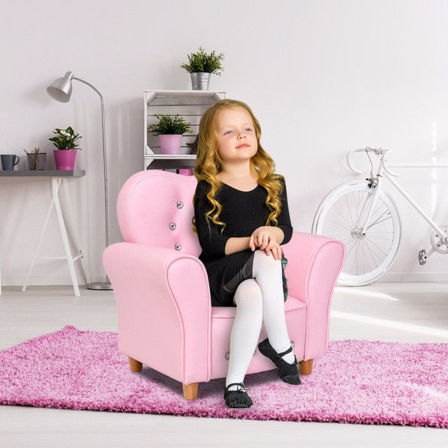 Pink Kids Teen Sofa Armrest Chair Couch