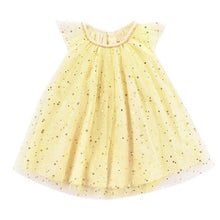 Load image into Gallery viewer, Infant Girls Sequined dress Star Print Bling Net