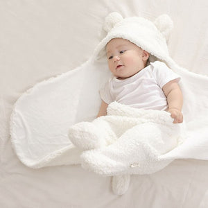 New Blanket Newborn Baby Swaddle Wrap Soft Winter