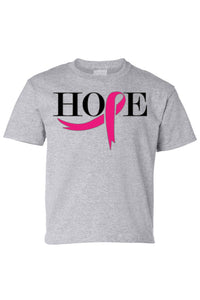 Kids Tee Ribbon of Hope Short Sleeve T-Shirt