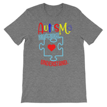 Load image into Gallery viewer, Autism Don't Judge - Short-Sleeve Unisex T-Shirt - DecoExchange
