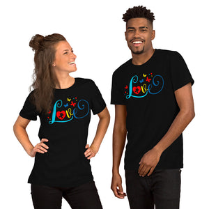 Autism Love Short-Sleeve Unisex T-Shirt