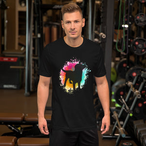 Mens Dog Pet Pride Short-Sleeve Unisex T-Shirt