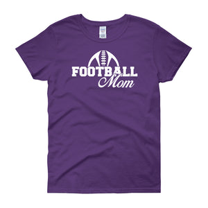 FootBall Mom Shirt - Women's short sleeve t-shirt - DecoExchange