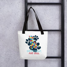 Load image into Gallery viewer, Autism Awareness Dog Tote bag