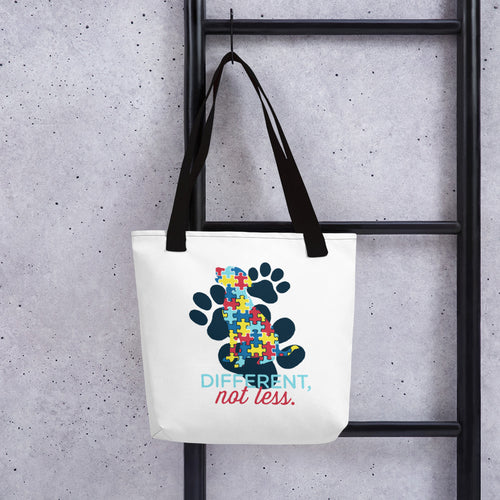 Autism Awareness Dog Tote bag