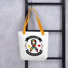 Load image into Gallery viewer, Autism Awareness Tote bag