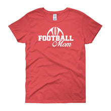 Load image into Gallery viewer, FootBall Mom Shirt - Women's short sleeve t-shirt - DecoExchange