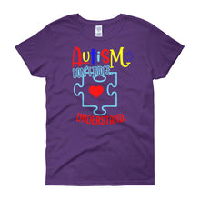 Load image into Gallery viewer, Autism Don't Judge - Women's short sleeve t-shirt - DecoExchange