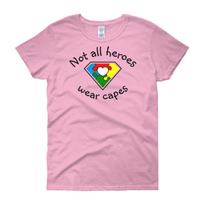 Not All Heroes - Women's short sleeve t-shirt - DecoExchange