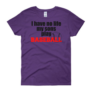 Baseball Mom Shirt - Women's short sleeve t-shirt - DecoExchange