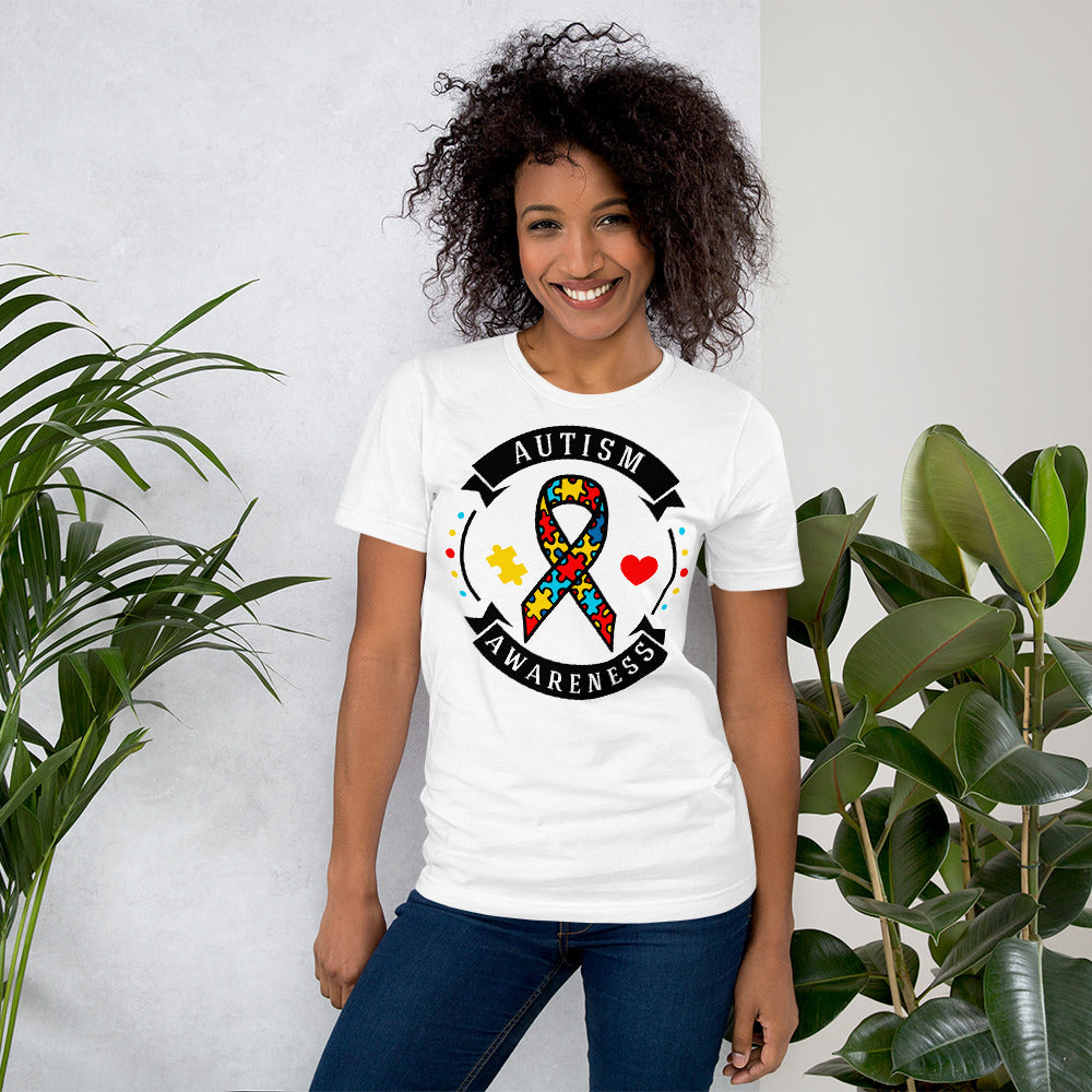Autism Awareness Short-Sleeve Unisex T-Shirt