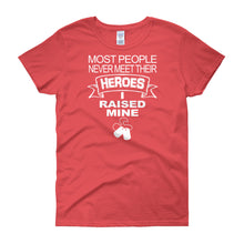 Load image into Gallery viewer, Heroes Mom Shirt - Women's short sleeve t-shirt - DecoExchange