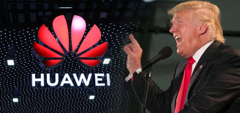 Donald Trump Vs Huawei