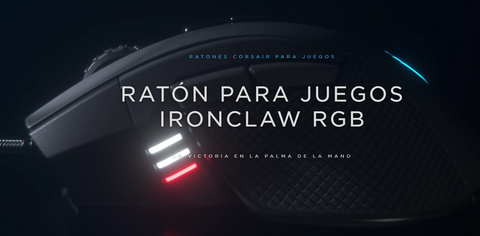 Mouse Gamer Ironclaw RGB