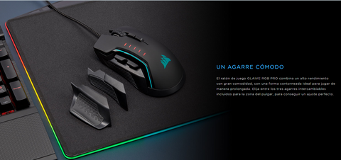 Mouse Gamer Corsair Glaive