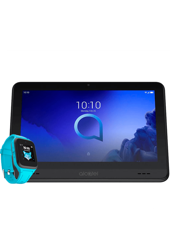 Tablet Alcatel Smart Tab 7 negra + Smartwatch Movetime