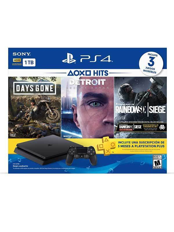 Consola Playstation 4 Bundle Hits 5