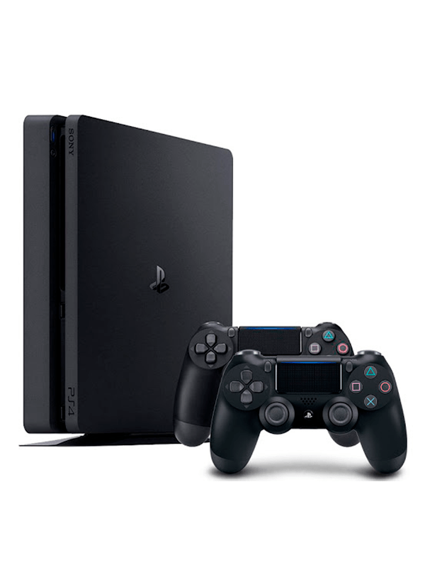 Consola Playstation 4 slim 1TB 2 Controles