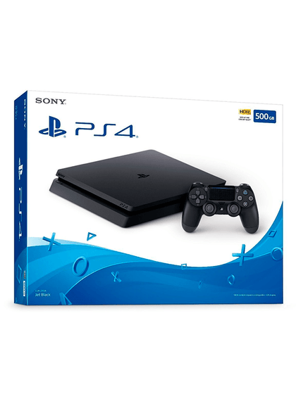 Videojuegos Consola Playstation 4 slim 500GB
