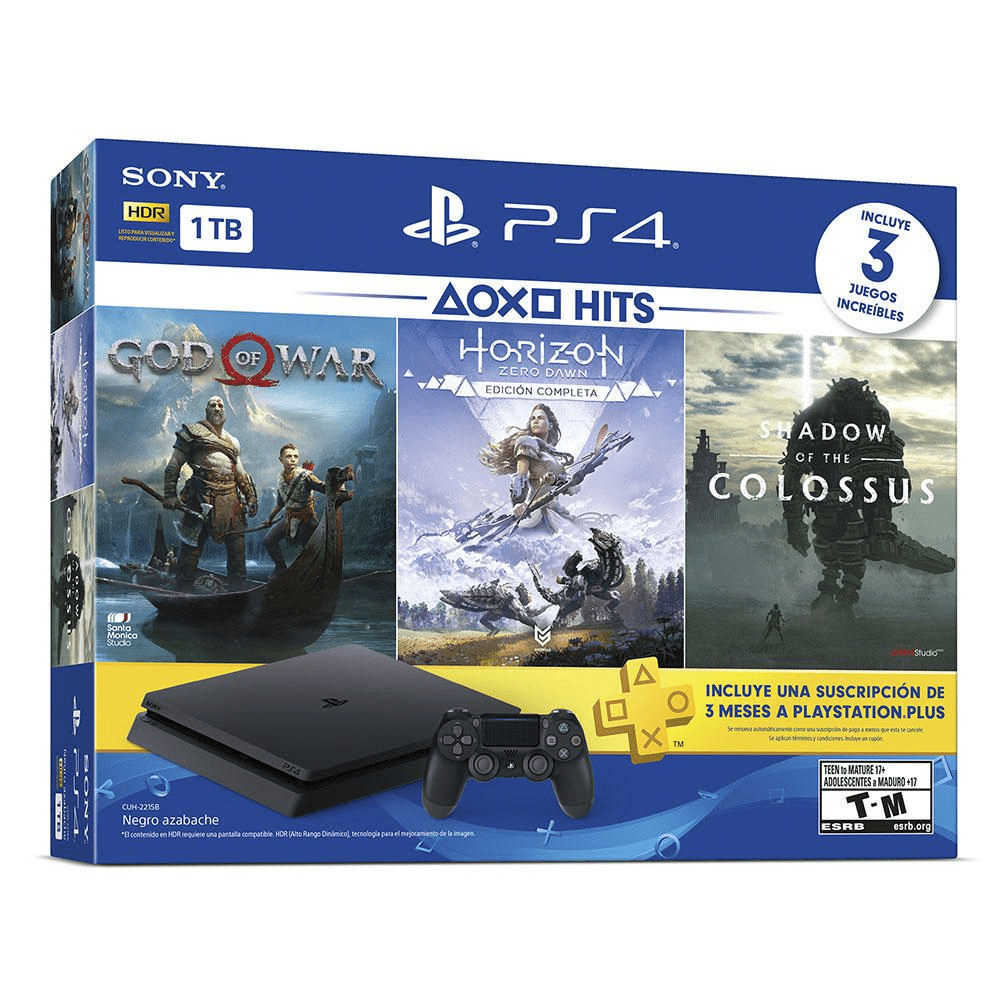 Consola PS4 Bundle Hits 4