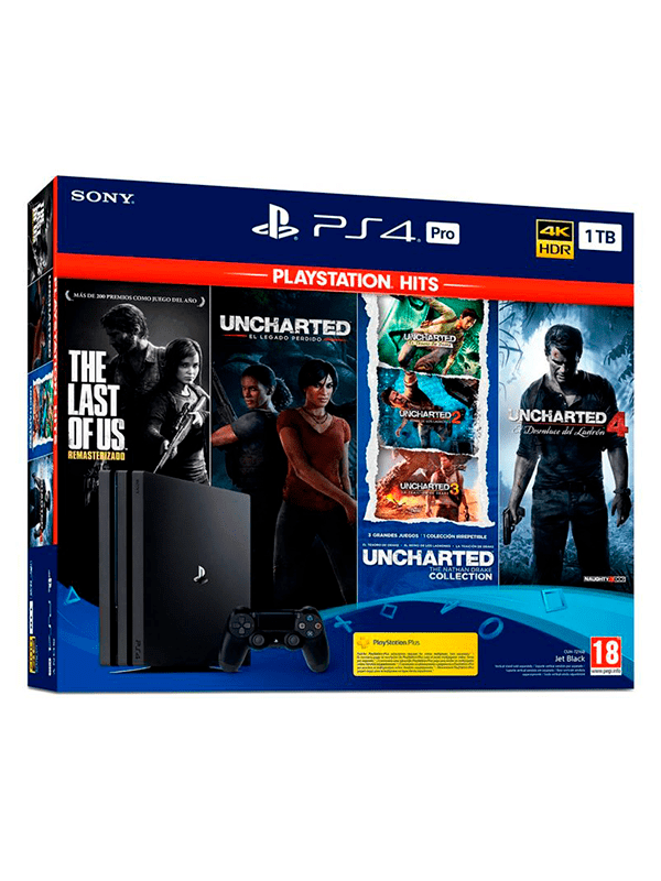 PlayStation 4 Pro 1TB Bundle Hits
