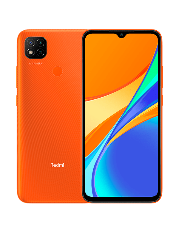Celulares Xiaomi Redmi 9C Orange