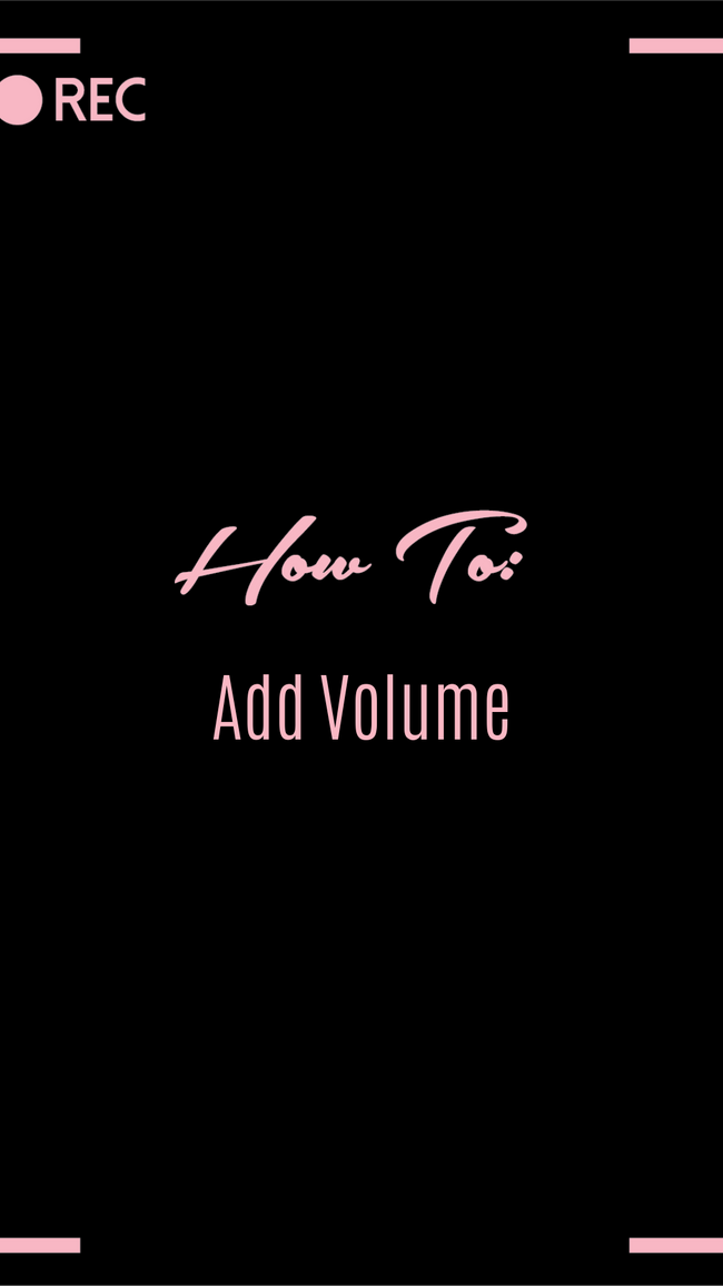 HOW TO: Add Volume
