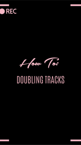How to: Double Tracks
