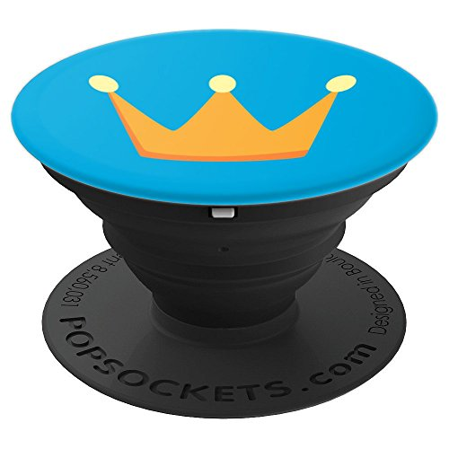 Crown PopSocket Design - PopSockets Grip and Stand for Phones and Tablets