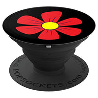 Colorful flower pattern removable phone grip - PopSockets Grip and Stand for Phones and Tablets