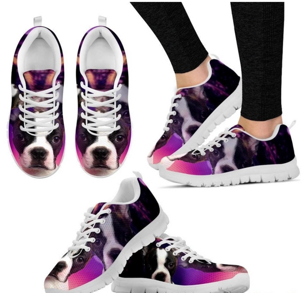Animal Print Sneakers Sport Running Shoes