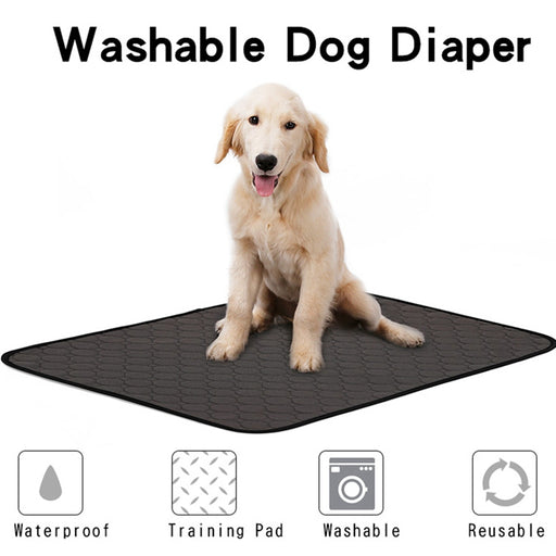 Pet Urine Mat Strong Water Absorption Mat Washable Reusable - purepawsco