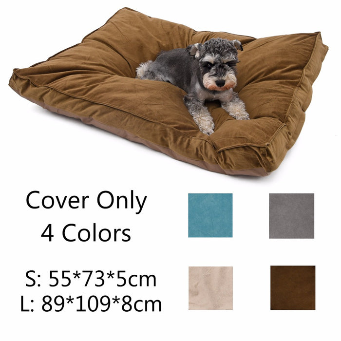 Luxury Pet Mat Dog Cushion Durable Dog Cat Bed Larger - purepawsco