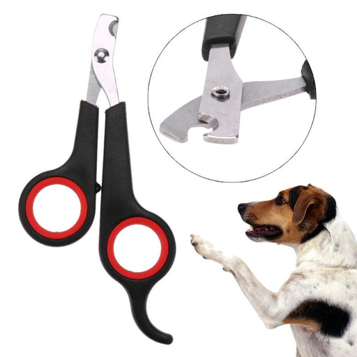High Quality Pet Dog Toe Care Pet Nail Clippers Scissors Trimmers Claw Nail Grinder Pet Grooming Pet Suppliers Stainless Steel - purepawsco